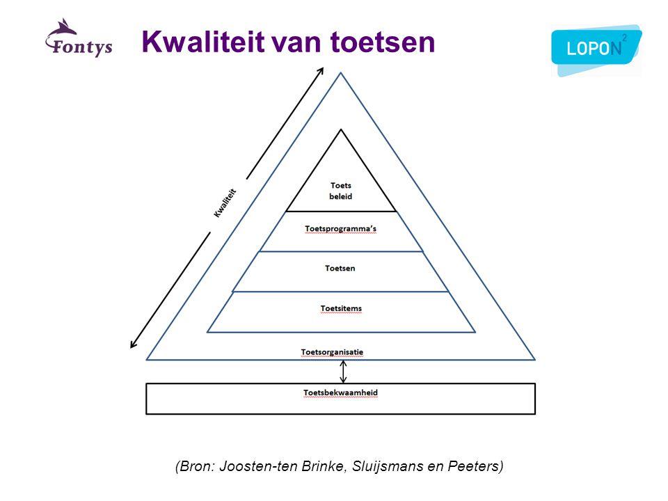 (Bron: Joosten-ten Brinke, Sluijsmans en Peeters)