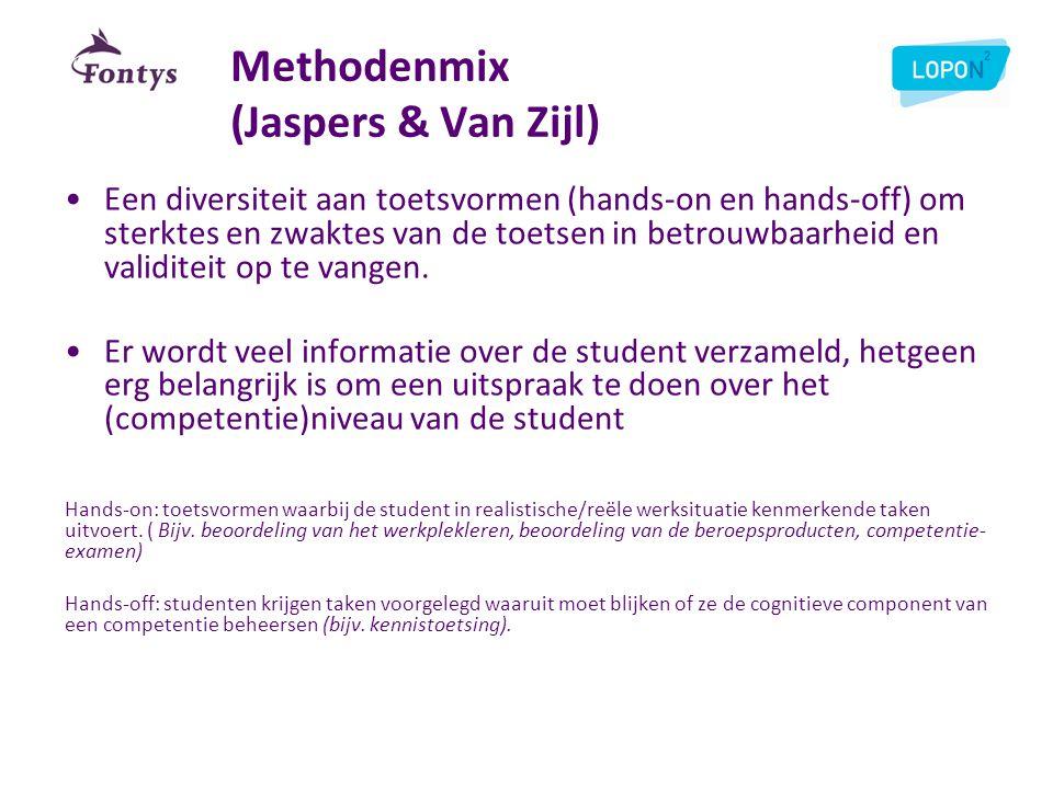 Methodenmix (Jaspers & Van Zijl)
