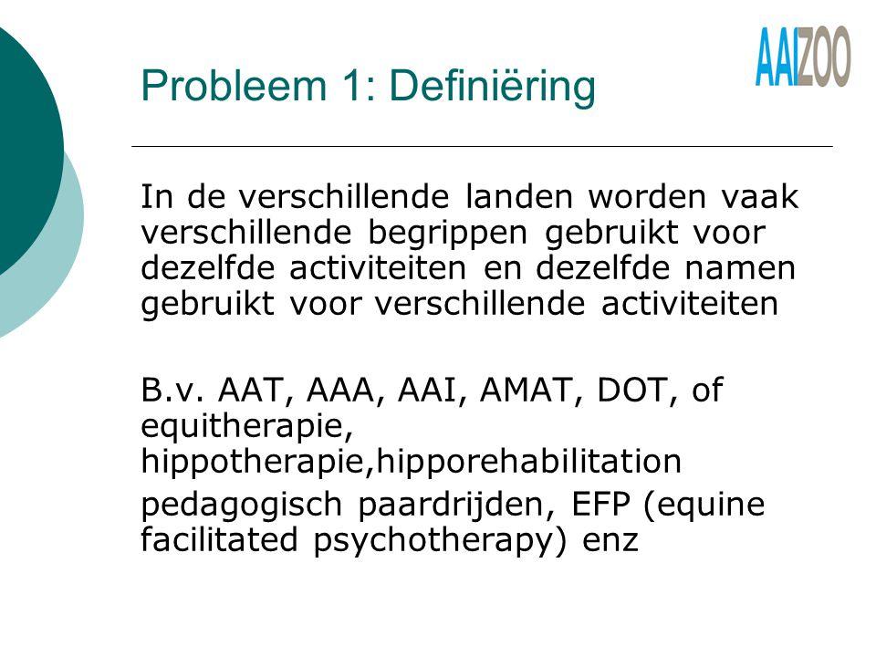 Probleem 1: Definiëring