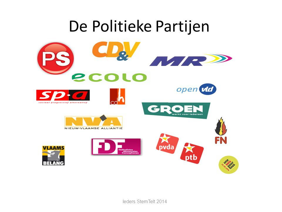 De Politieke Partijen Ieders StemTelt 2014