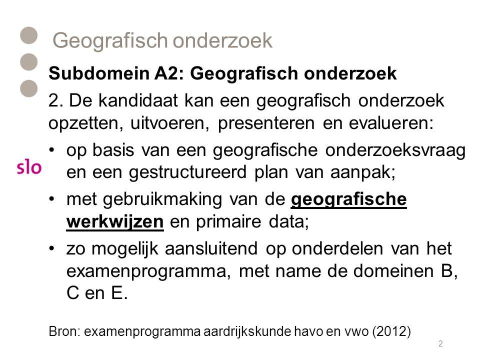 Geografisch onderzoek