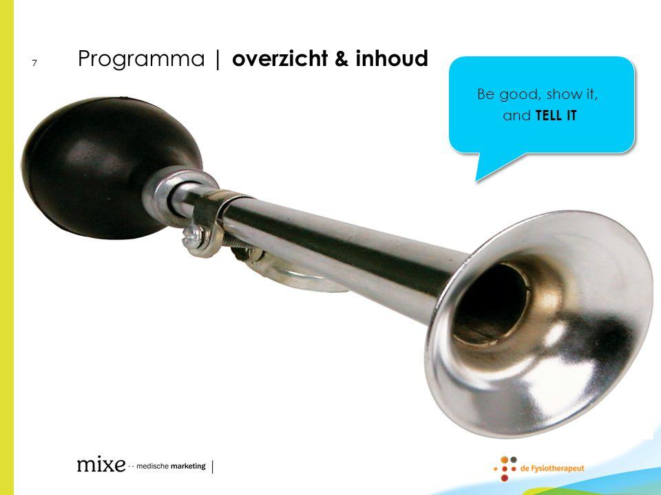 Programma | overzicht & inhoud