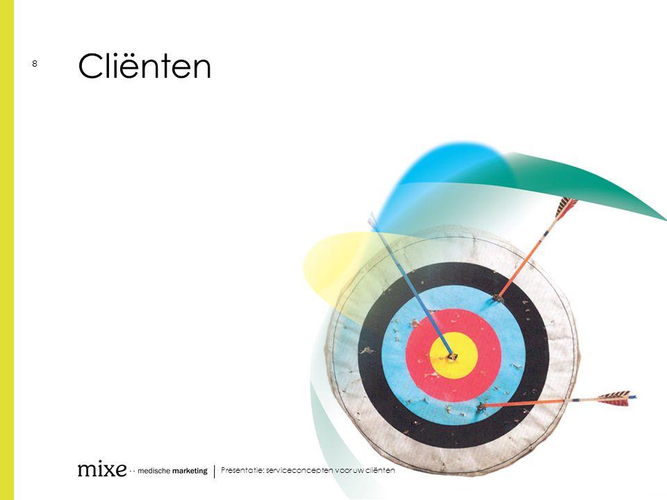 Cliënten Presentatie: serviceconcepten voor uw cliënten