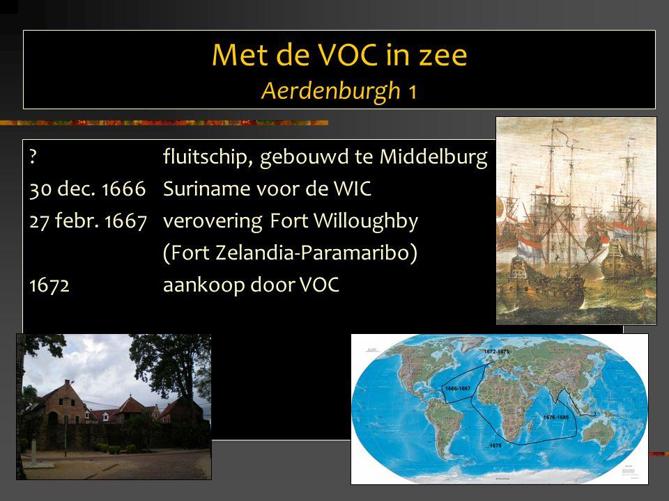 Met de VOC in zee Aerdenburgh 1