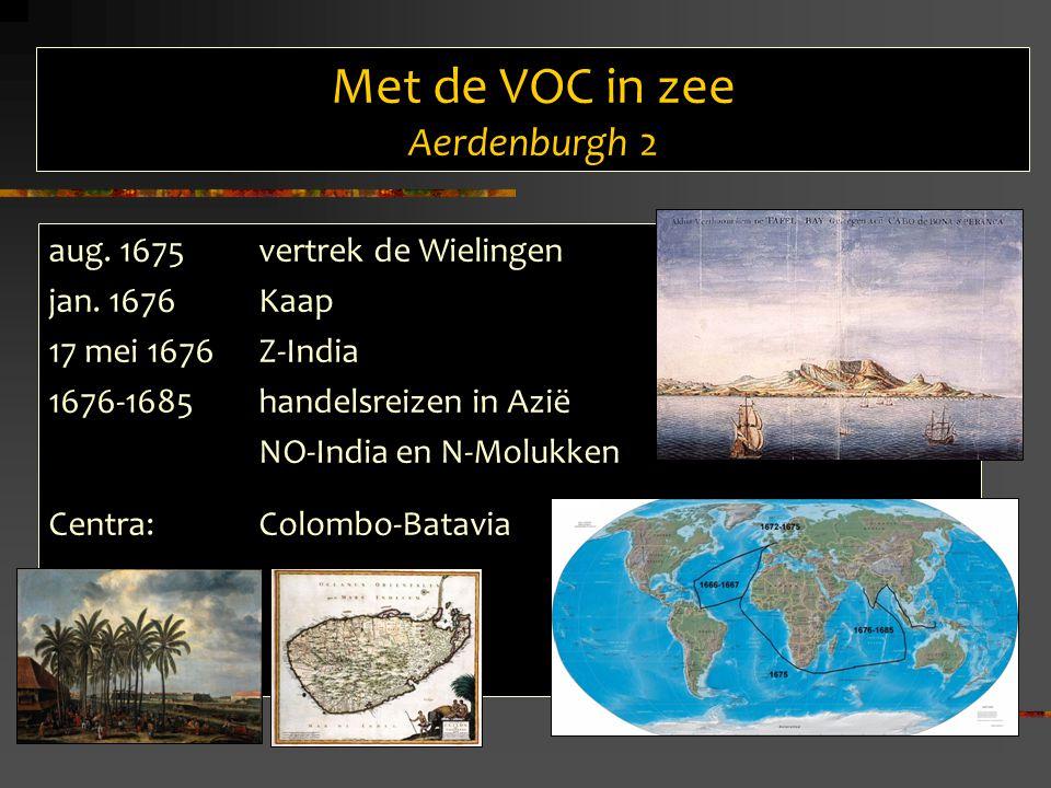 Met de VOC in zee Aerdenburgh 2