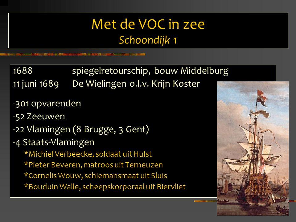 Met de VOC in zee Schoondijk 1