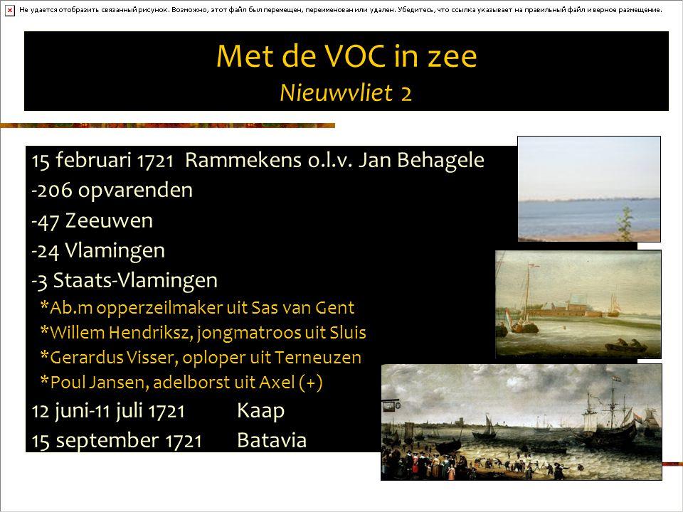 Met de VOC in zee Nieuwvliet 2