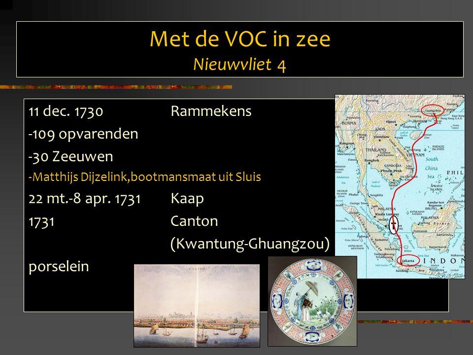 Met de VOC in zee Nieuwvliet 4