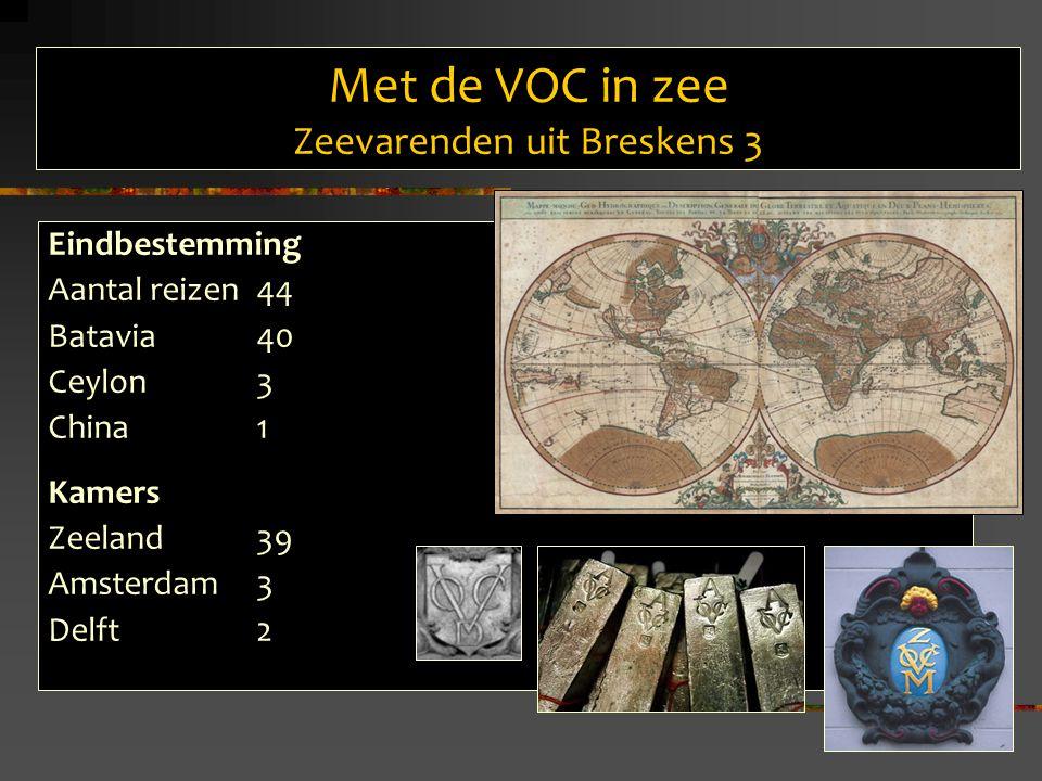 Met de VOC in zee Zeevarenden uit Breskens 3