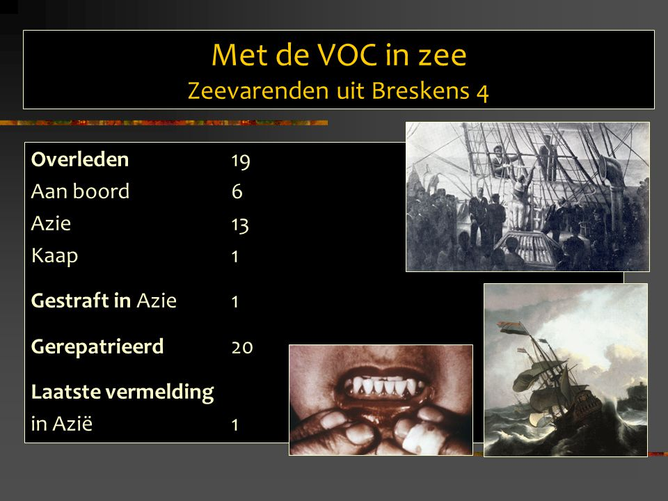 Met de VOC in zee Zeevarenden uit Breskens 4