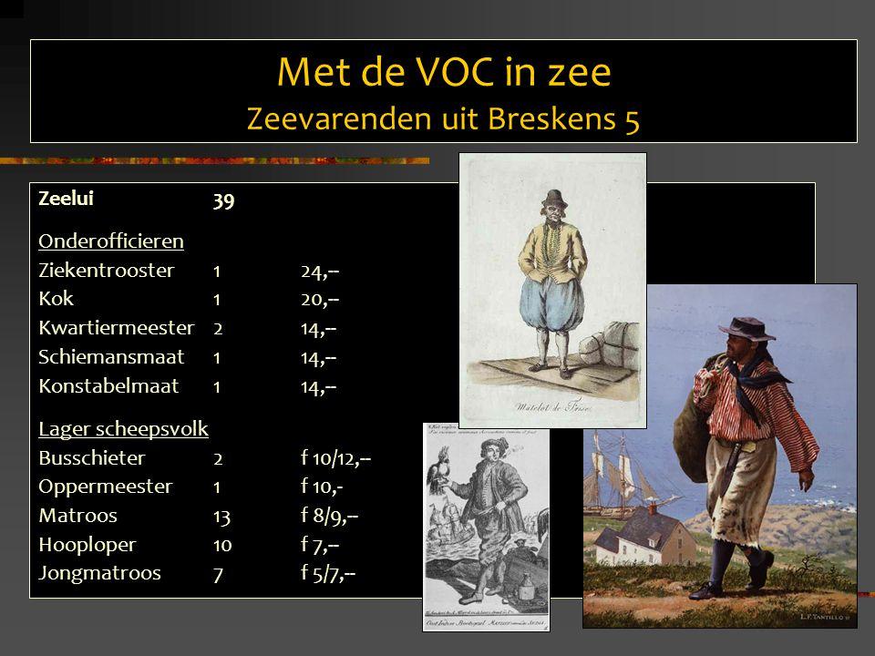 Met de VOC in zee Zeevarenden uit Breskens 5