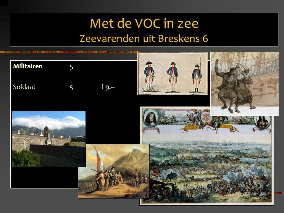 Met de VOC in zee Zeevarenden uit Breskens 6