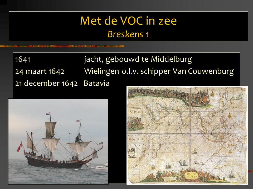 Met de VOC in zee Breskens 1