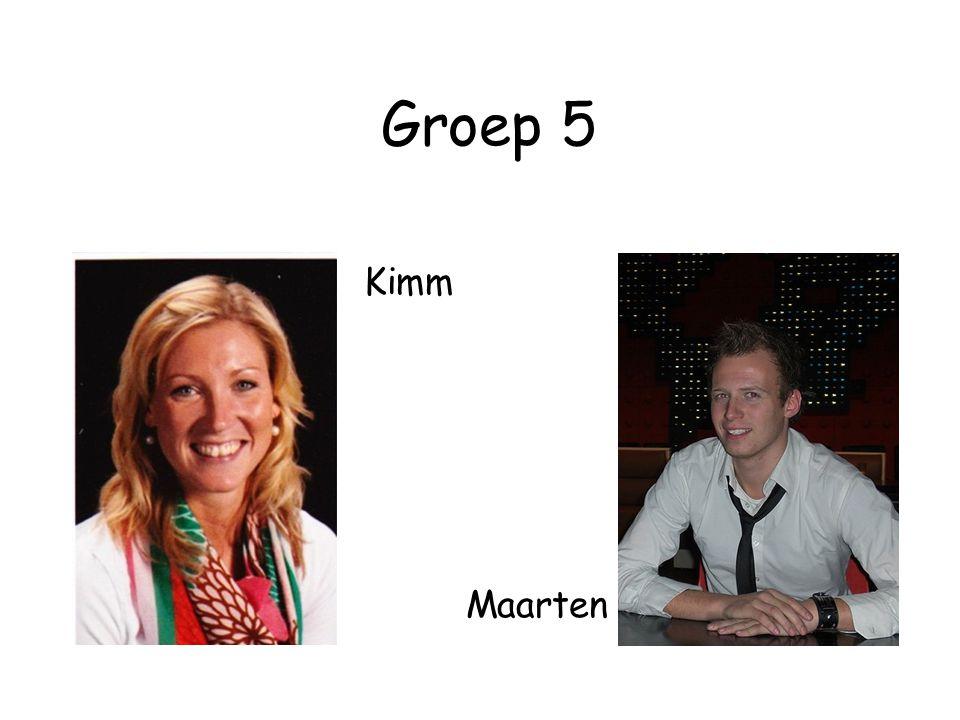 Groep 5 Kimm Maarten