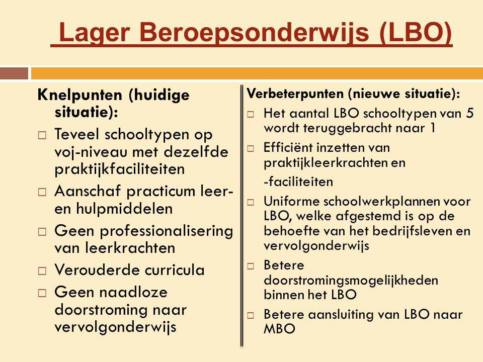 Lager Beroepsonderwijs (LBO)