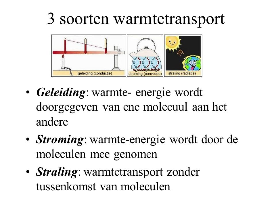 3 soorten warmtetransport