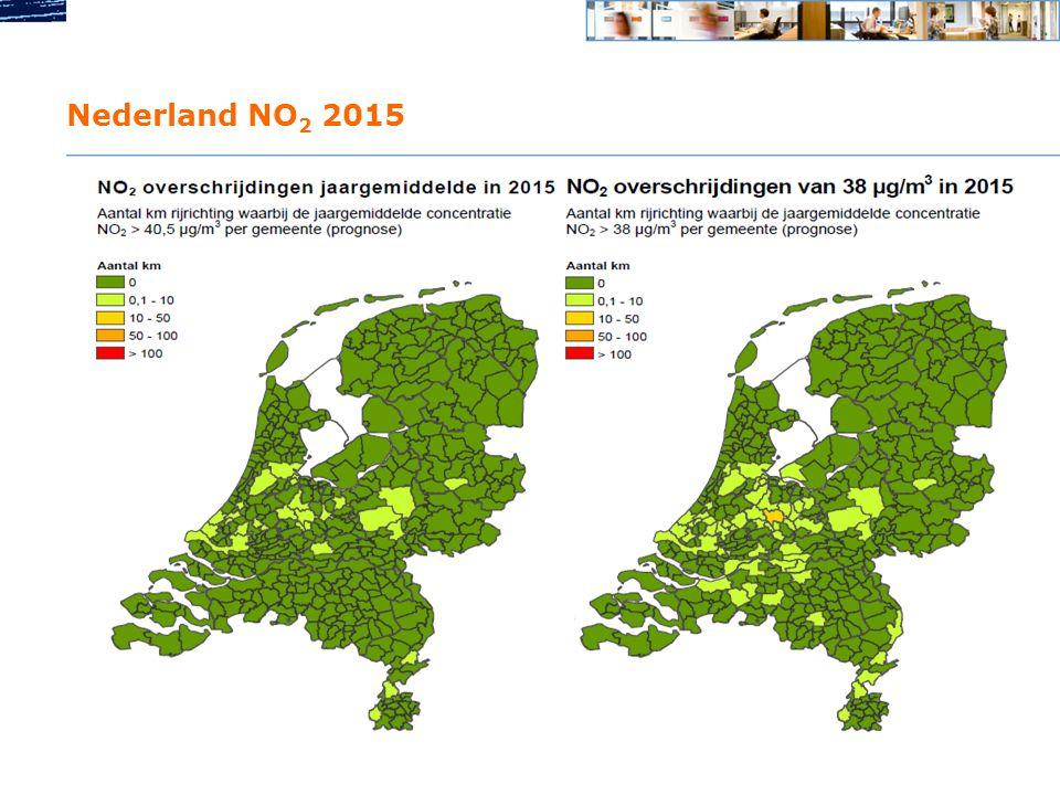 Nederland NO2 2015