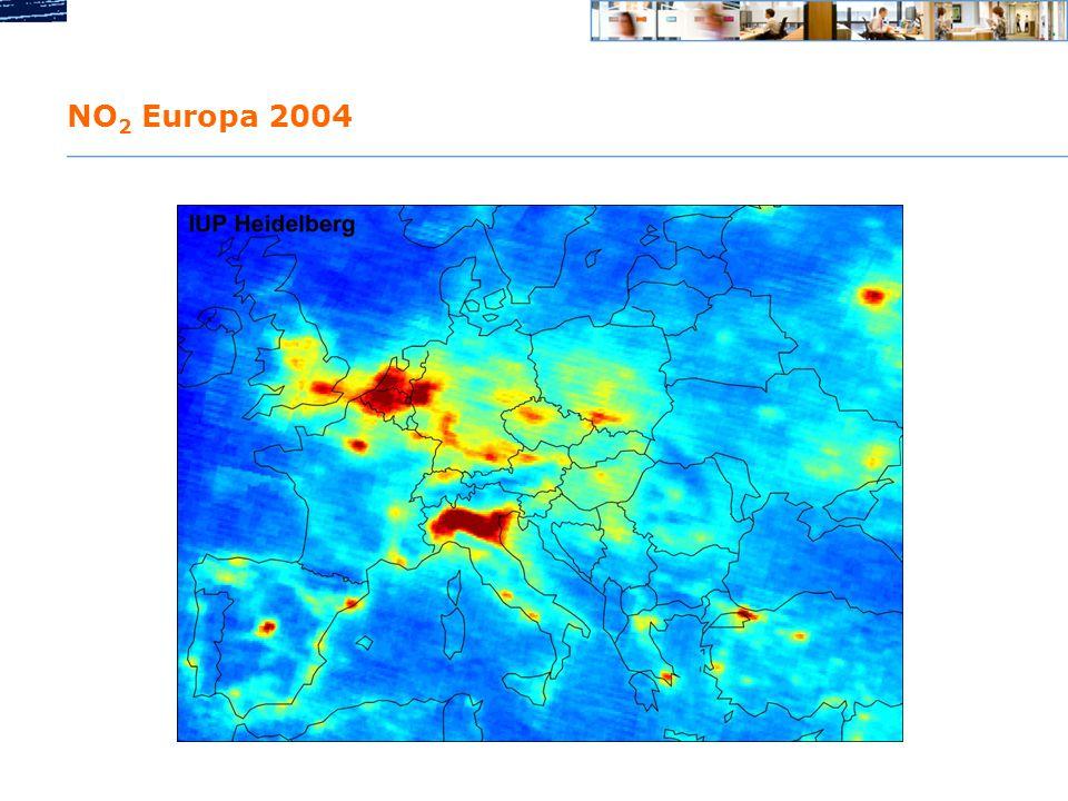 NO2 Europa 2004