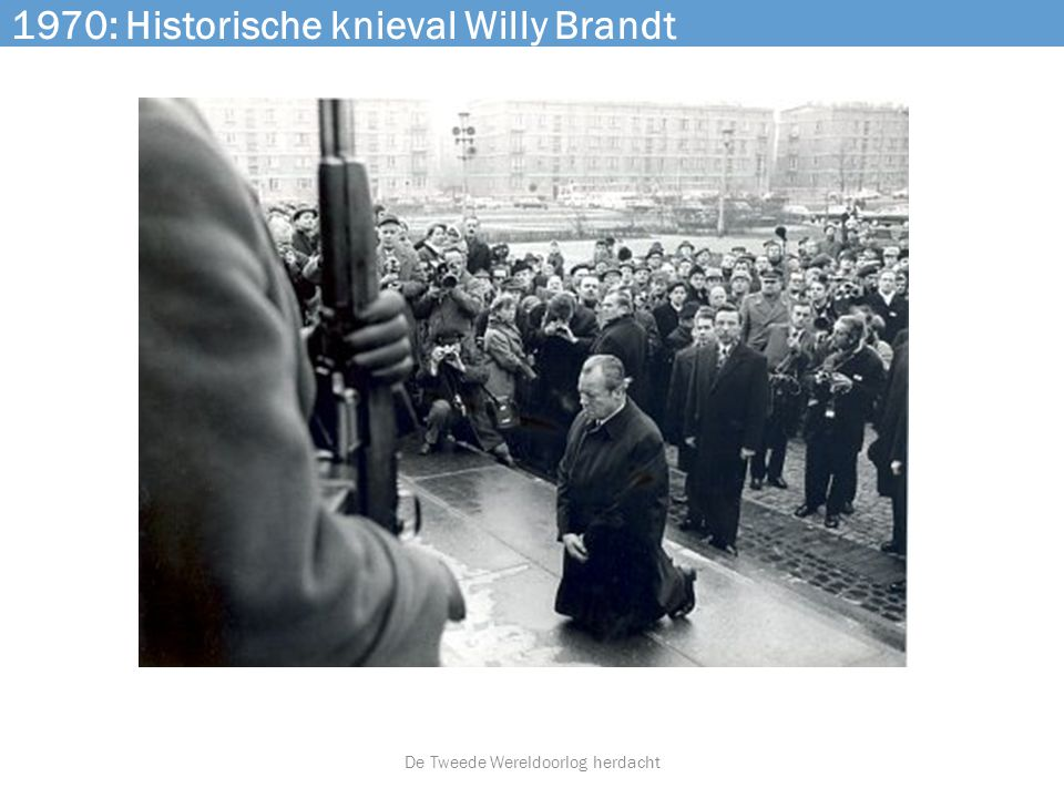 1970: Historische knieval Willy Brandt