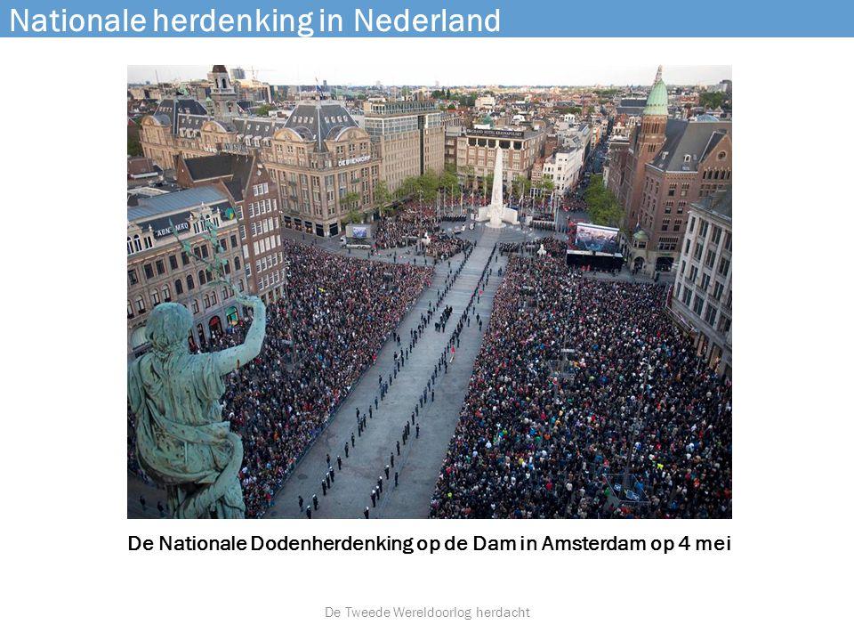 Nationale herdenking in Nederland