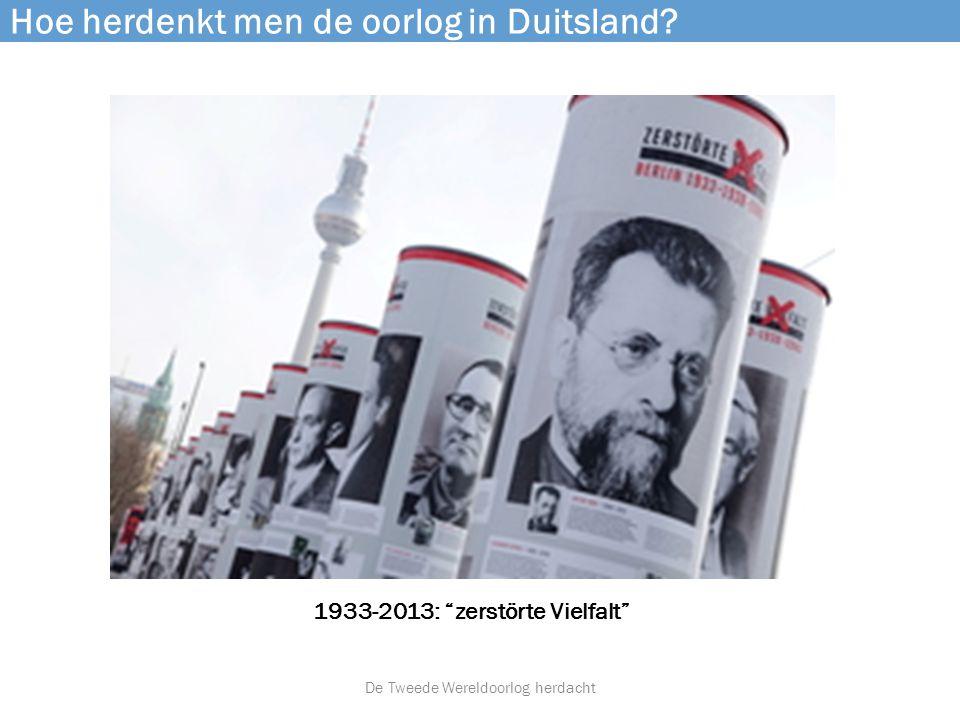 Hoe herdenkt men de oorlog in Duitsland