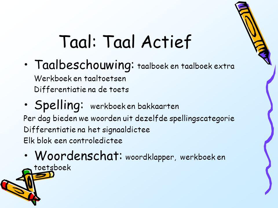 Taal: Taal Actief Taalbeschouwing: taalboek en taalboek extra