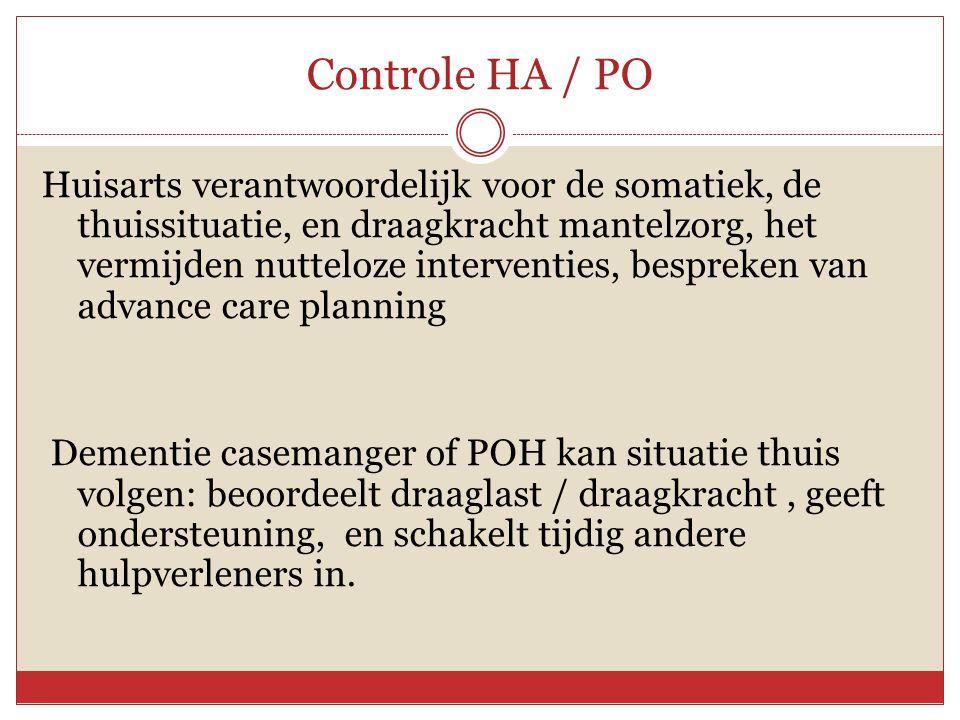 Controle HA / PO