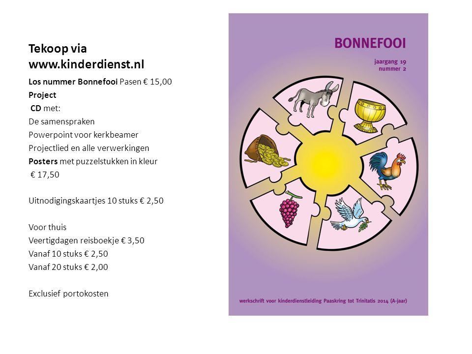 Tekoop via www.kinderdienst.nl