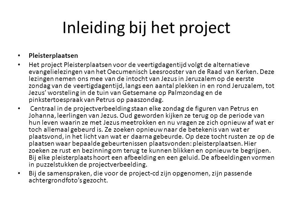 Inleiding bij het project
