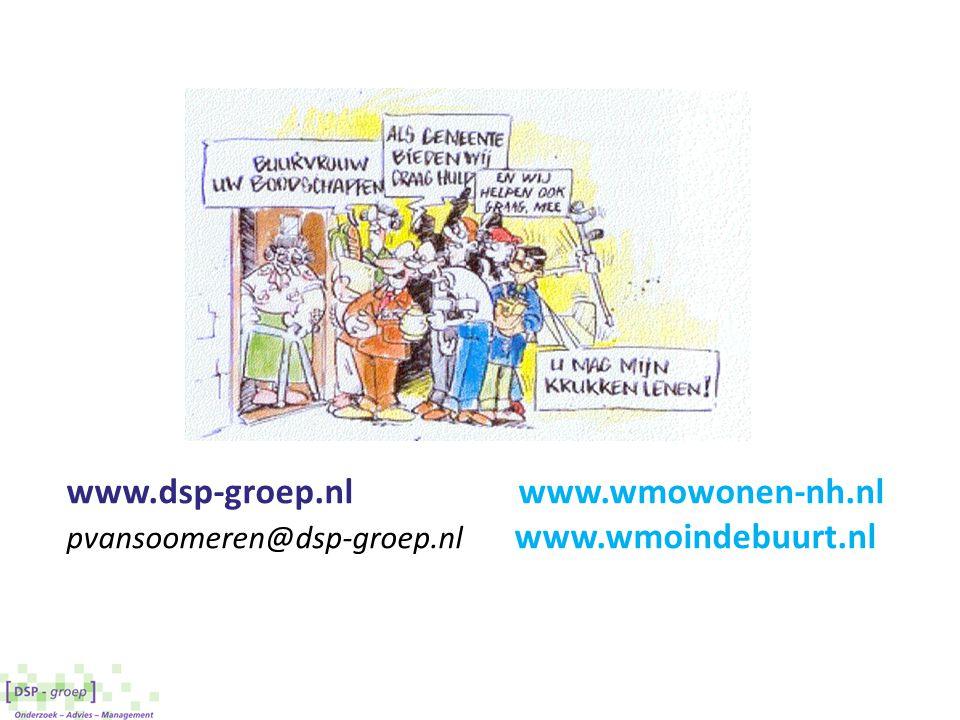 www.dsp-groep.nl www.wmowonen-nh.nl