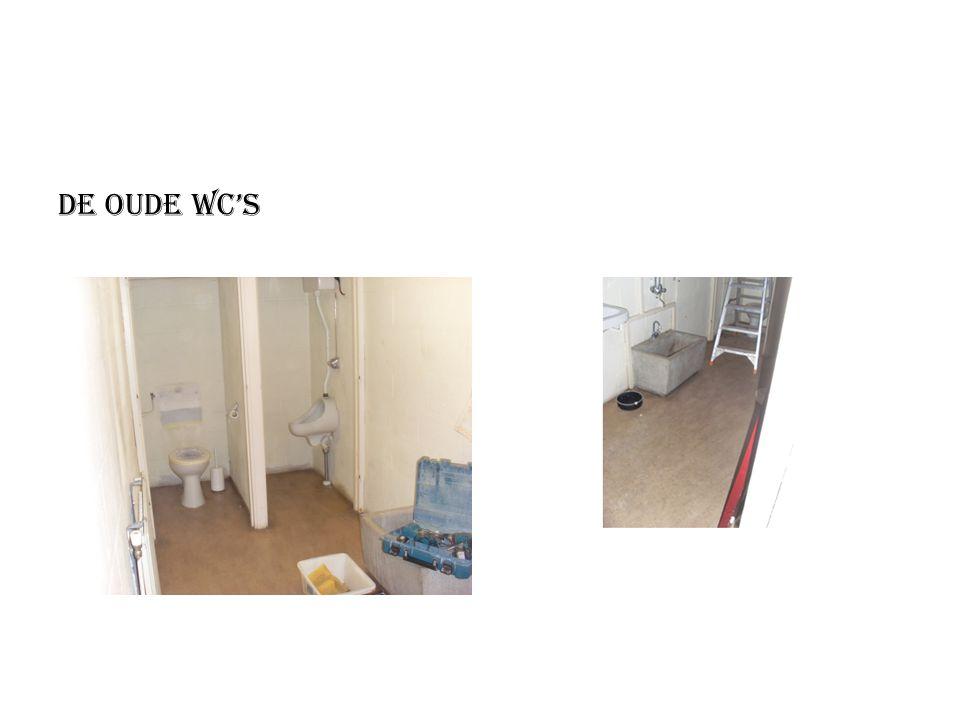 De oude wc's