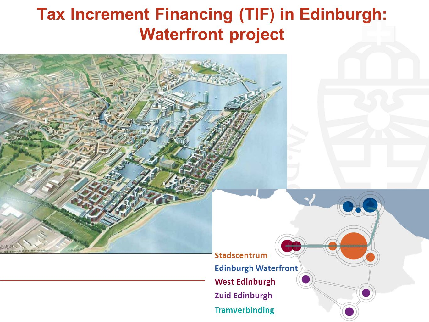 Tax Increment Financing (TIF) in Edinburgh: Waterfront project
