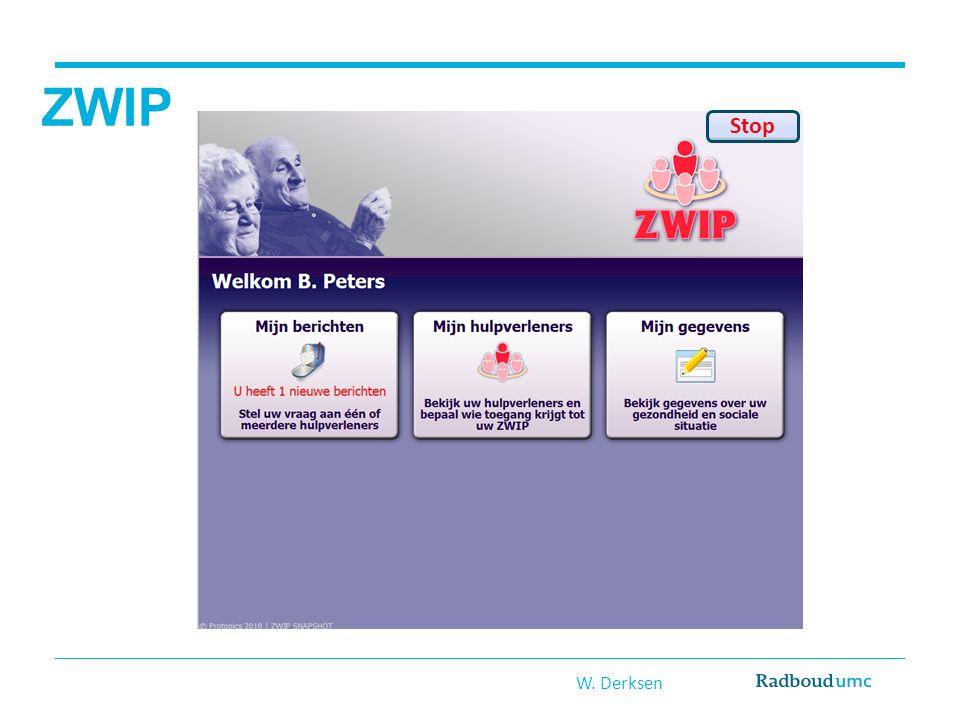 ZWIP Stop W. Derksen