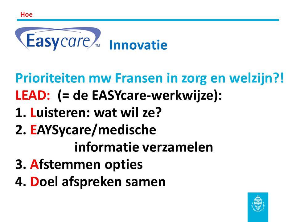Hoe Innovatie.