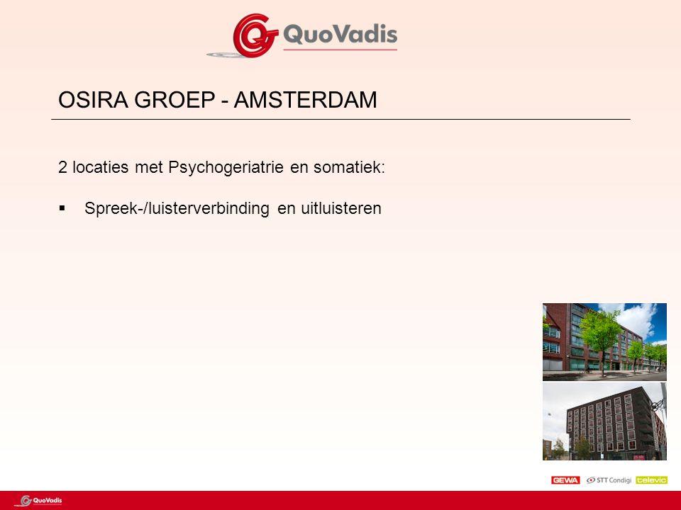 OSIRA GROEP - AMSTERDAM