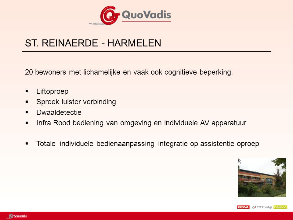 ST. REINAERDE - HARMELEN