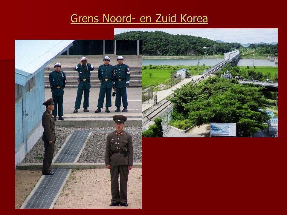 Grens Noord- en Zuid Korea