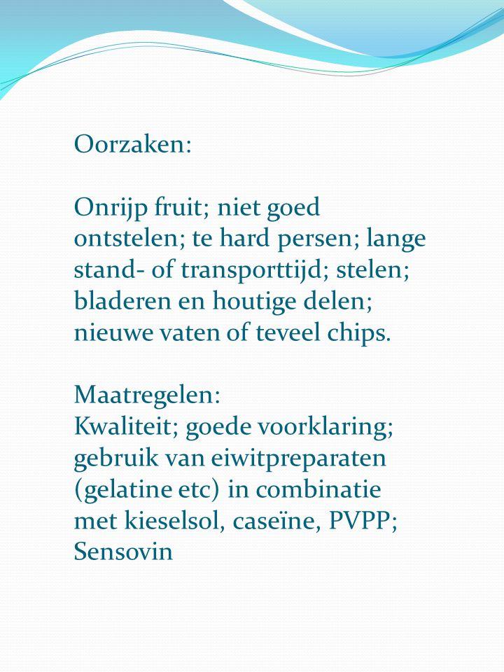 Oorzaken: