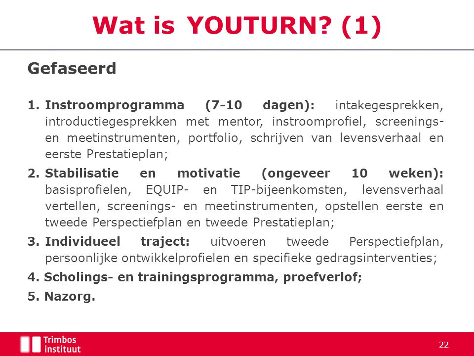 Wat is YOUTURN (1) Gefaseerd