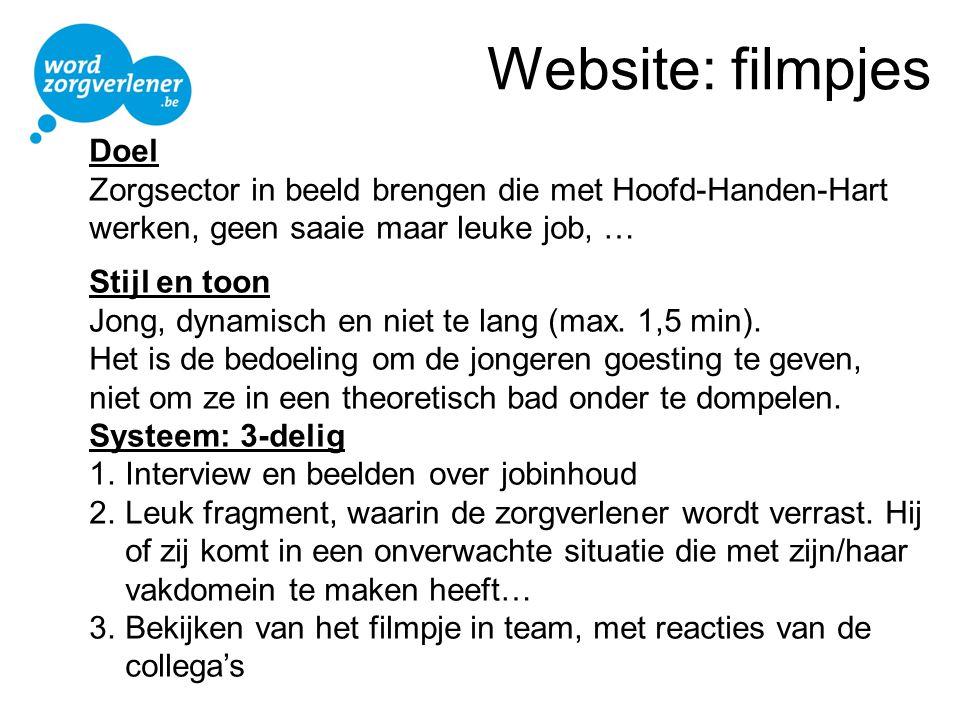Website: filmpjes Doel