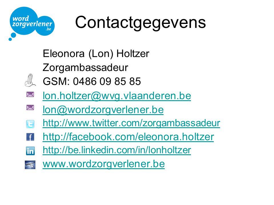 Contactgegevens Eleonora (Lon) Holtzer Zorgambassadeur