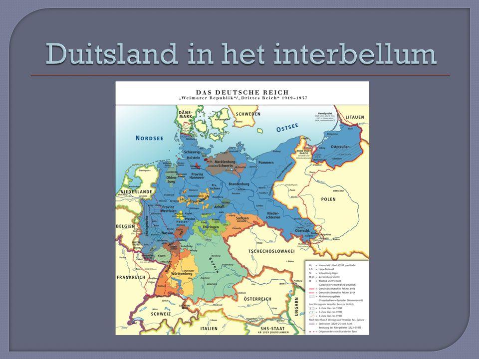 Duitsland in het interbellum
