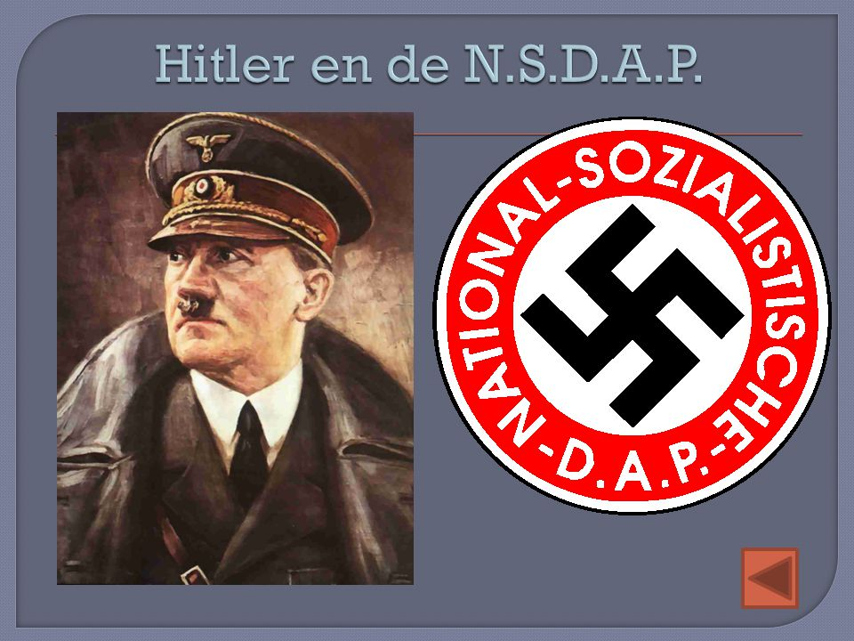 Hitler en de N.S.D.A.P.