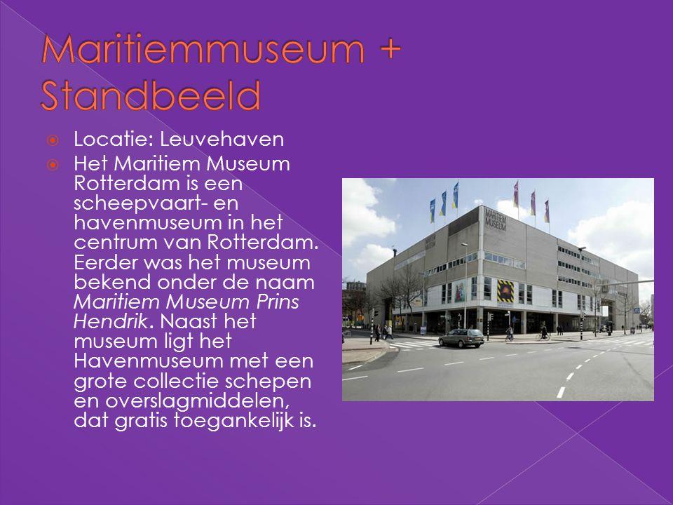 Maritiemmuseum + Standbeeld