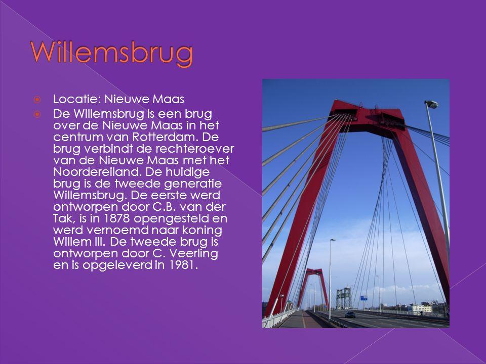 Willemsbrug Locatie: Nieuwe Maas