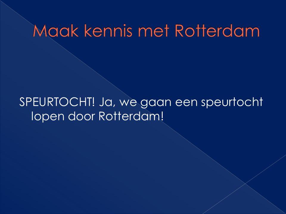 Maak kennis met Rotterdam