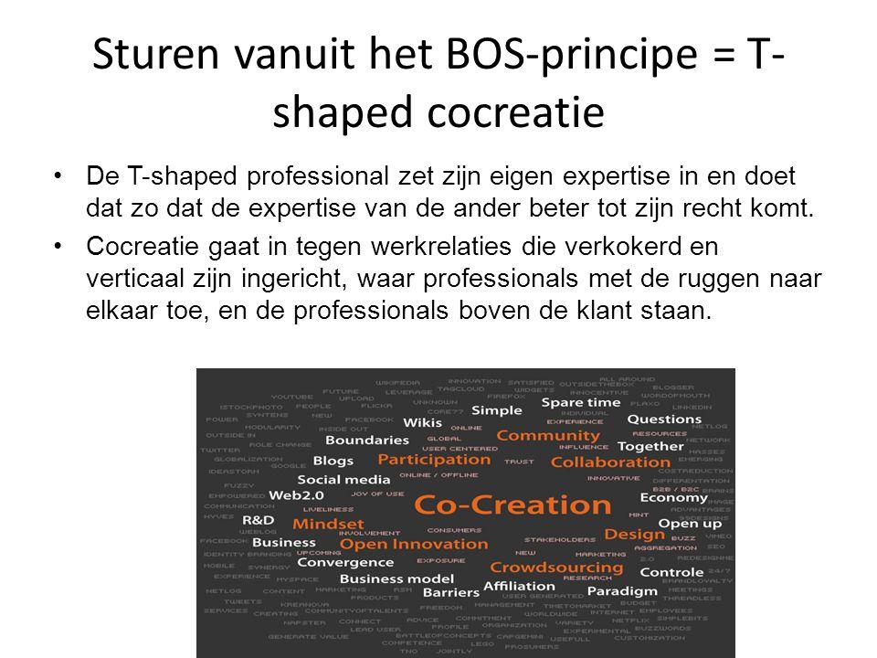 Sturen vanuit het BOS-principe = T-shaped cocreatie