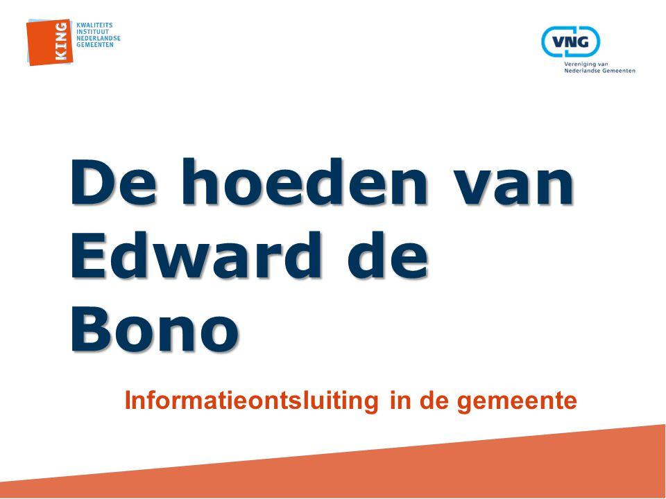 De hoeden van Edward de Bono