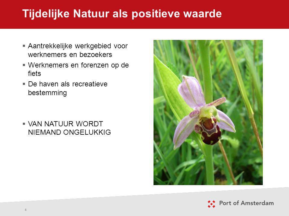 Tijdelijke Natuur als positieve waarde