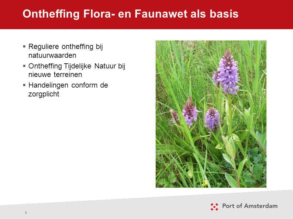 Ontheffing Flora- en Faunawet als basis